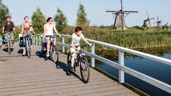 Rijnfietsroute - Rhine Cycle Route | LF-routes | Nederland Fietsland